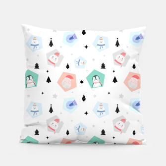 Thumbnail image of Funny Christmas Pillow, Live Heroes