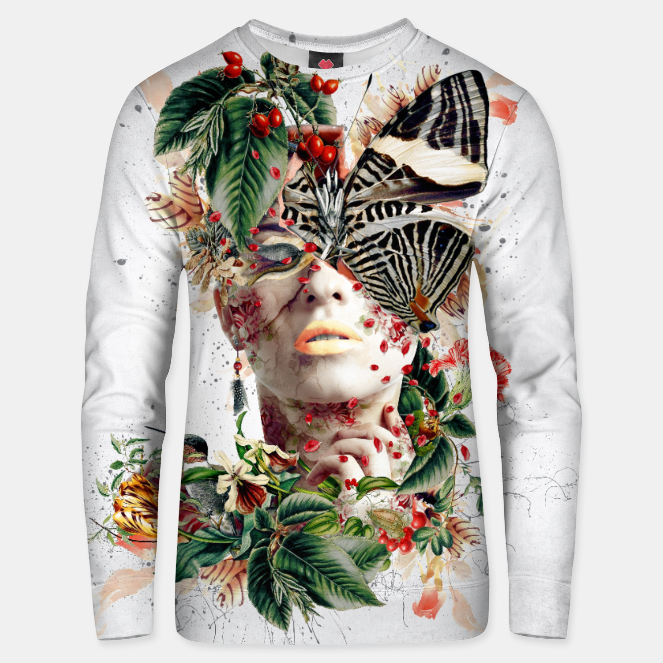 Image of Inside Butterfly Unisex sweater - Live Heroes