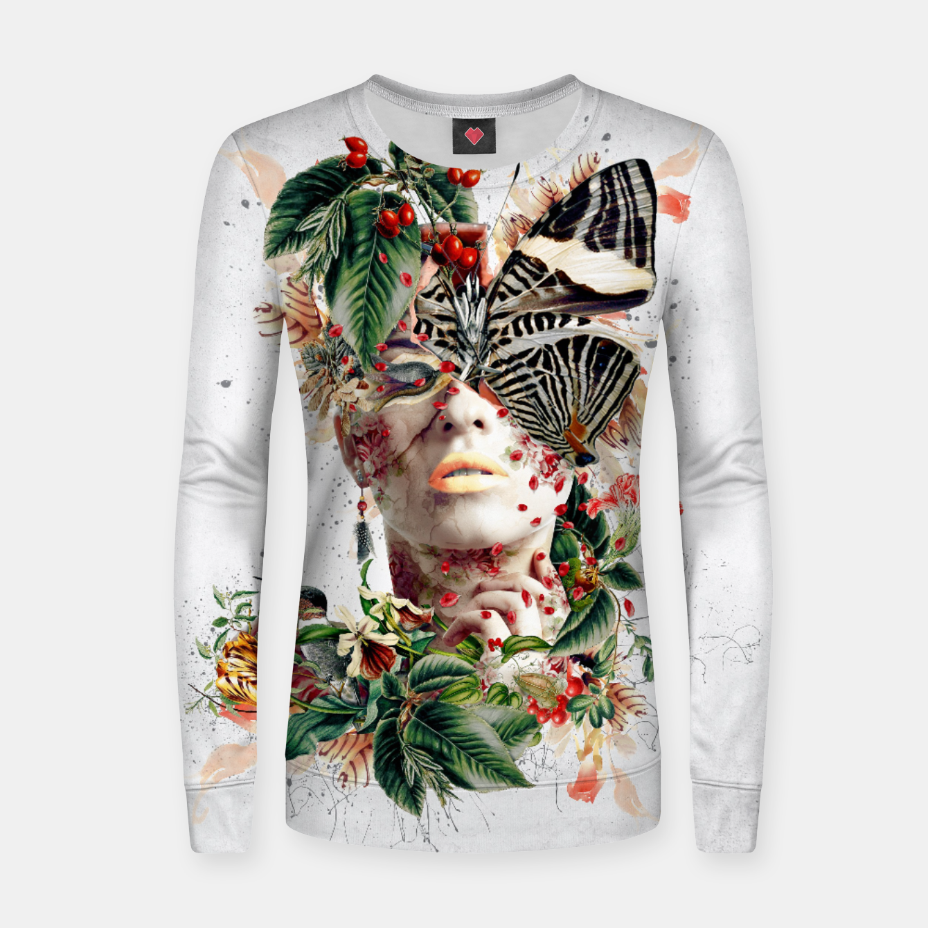 Image of Inside Butterfly Women sweater - Live Heroes