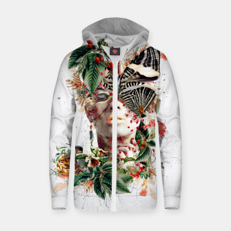 Thumbnail image of Inside Butterfly Zip up hoodie, Live Heroes
