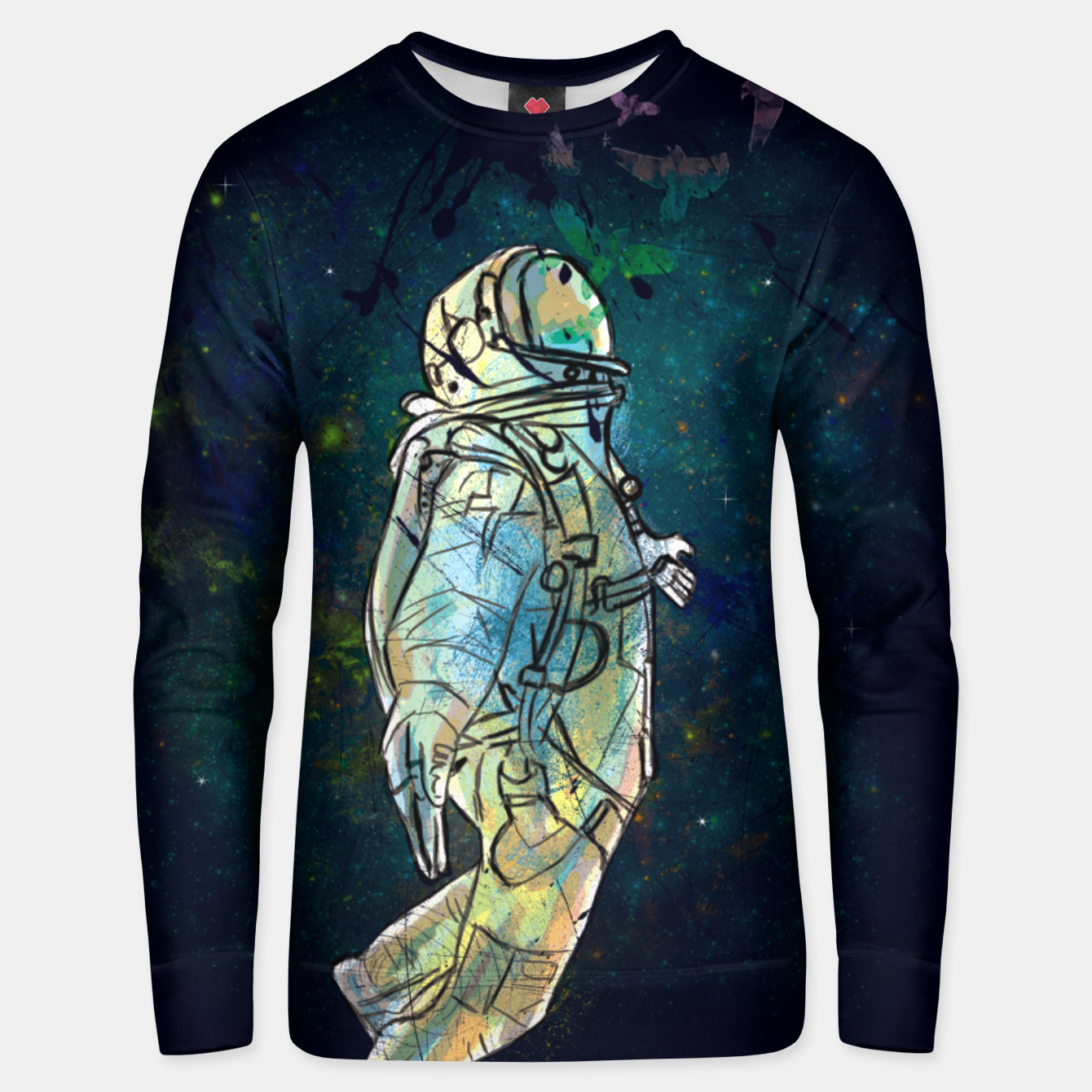Image of Spaceman Unisex sweater - Live Heroes