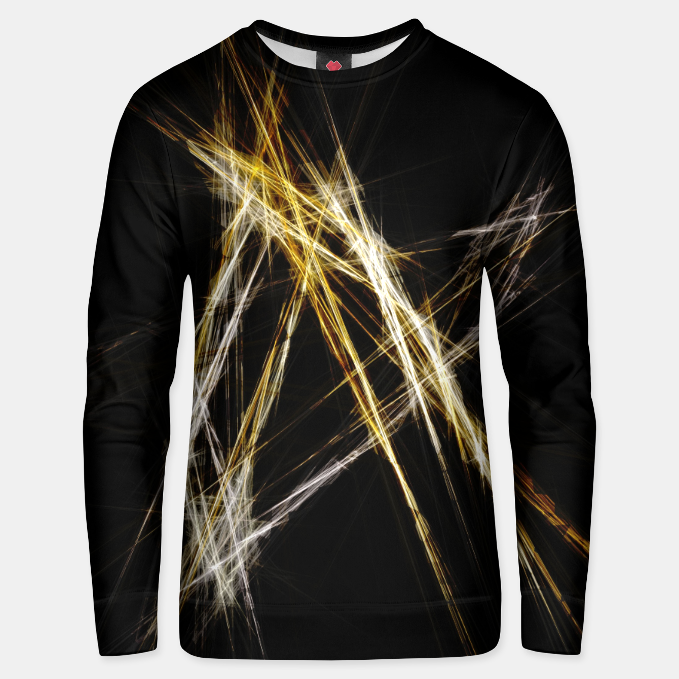 Image de Abstract 2 - Gold & Silver LowPoly Unisex sweatshirt - Live Heroes