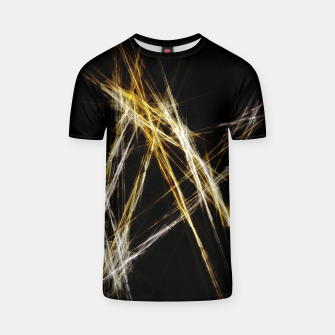 Abstract 2 - Gold & Silver LowPoly T-Shirt miniature