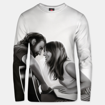 Thumbnail image of BE MY STAR clear unisex sweater, Live Heroes