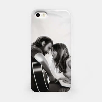 Thumbnail image of BE MY STAR clear iPhone case, Live Heroes