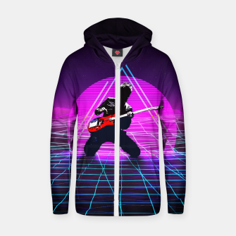 Thumbnail image of Muse Matt 1980 Style Zip up hoodie, Live Heroes