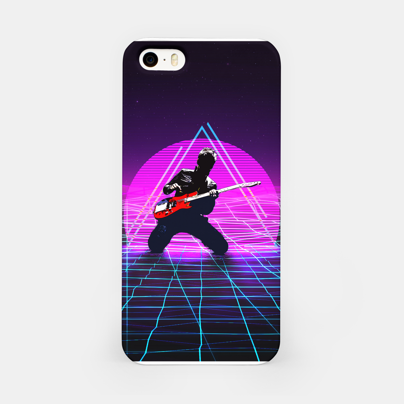 Foto Muse Matt 1980 Style iPhone Case - Live Heroes