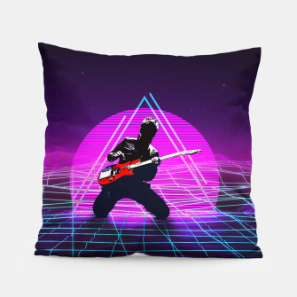 Thumbnail image of Muse Matt 1980 Style Pillow, Live Heroes