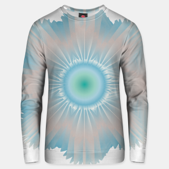 Thumbnail image of Cosmic floral fantasy Unisex sweater, Live Heroes