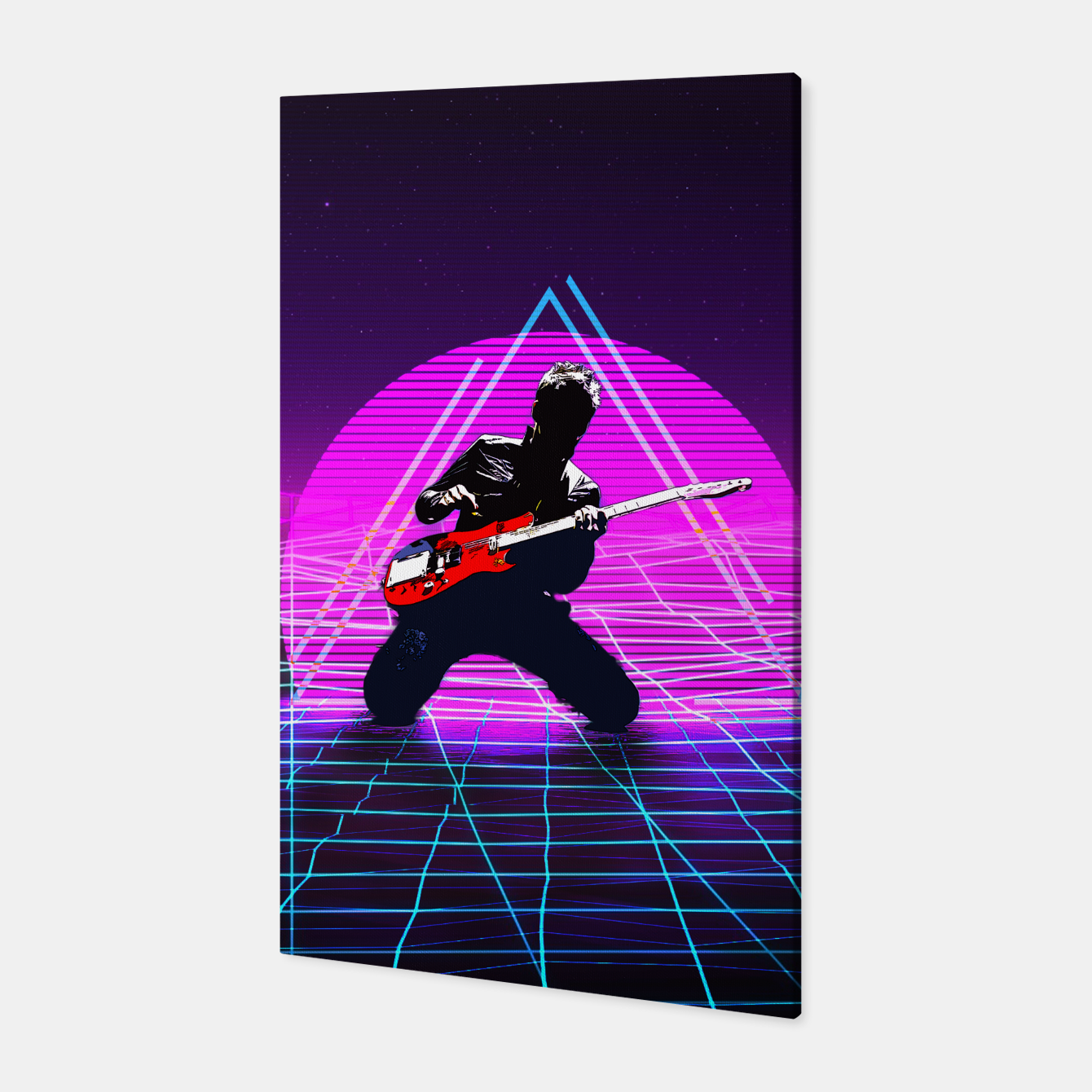 Foto Muse Matt 1980 Style Canvas - Live Heroes
