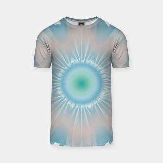 Thumbnail image of Cosmic floral fantasy T-shirt, Live Heroes