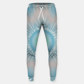 Thumbnail image of Cosmic floral fantasy Sweatpants, Live Heroes