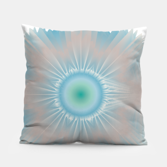 Thumbnail image of Cosmic floral fantasy Pillow, Live Heroes