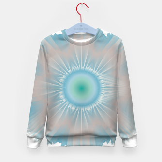 Thumbnail image of Cosmic floral fantasy Kid's sweater, Live Heroes