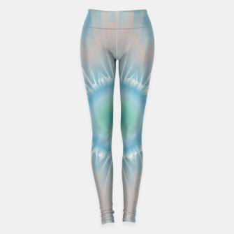 Thumbnail image of Cosmic floral fantasy Leggings, Live Heroes