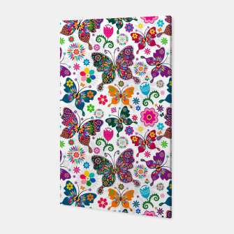 Thumbnail image of Colorful Butterflies Canvas, Live Heroes