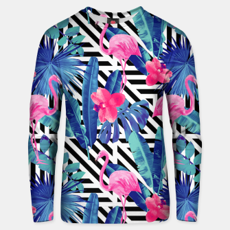 Flamingo's Style Unisex sweater miniature