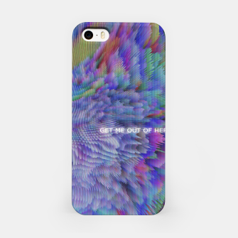 Thumbnail image of GET ME OUT OF HERE iPhone Case, Live Heroes