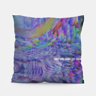Thumbnail image of GET ME OUT OF HERE Pillow, Live Heroes