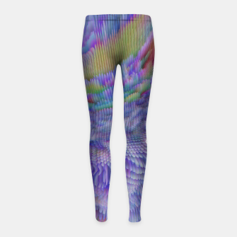 Thumbnail image of GET ME OUT OF HERE Girl's leggings, Live Heroes