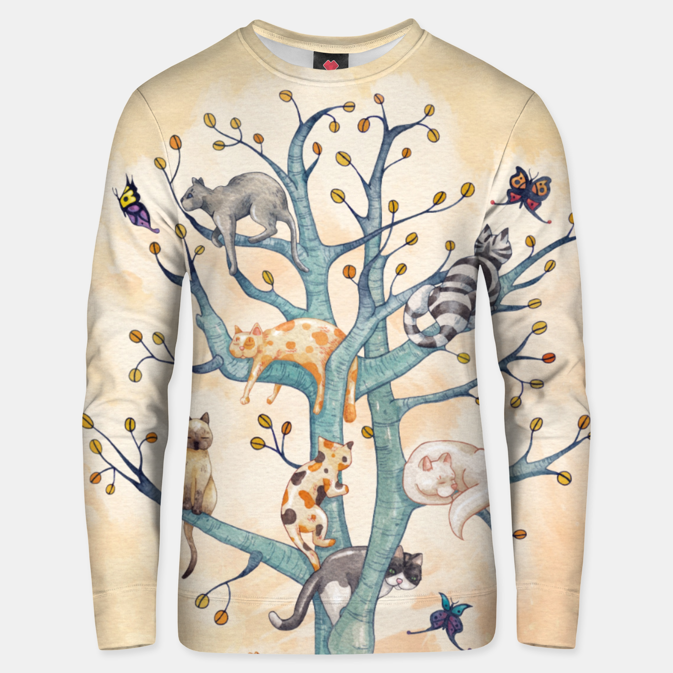 Foto The tree of cat life Sudadera unisex - Live Heroes
