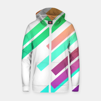 Color Ray Zip up hoodie Bild der Miniatur