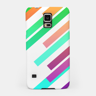 Miniatur Color Ray Samsung Case, Live Heroes