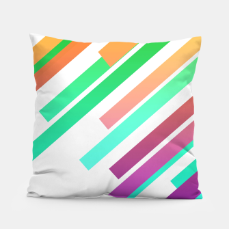 Color Ray Pillow Bild der Miniatur