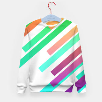 Color Ray Kid's sweater Bild der Miniatur