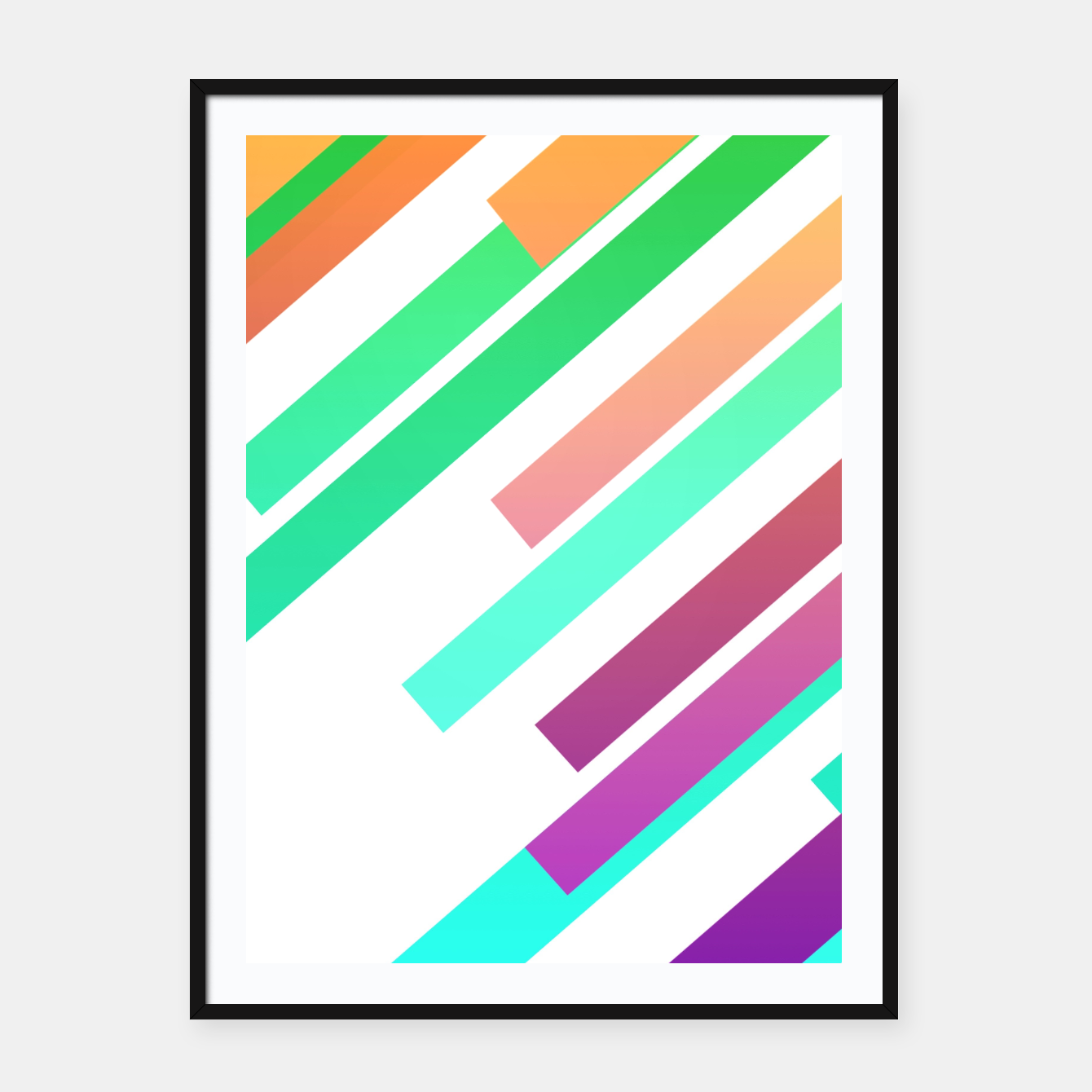 Foto Color Ray Framed poster - Live Heroes