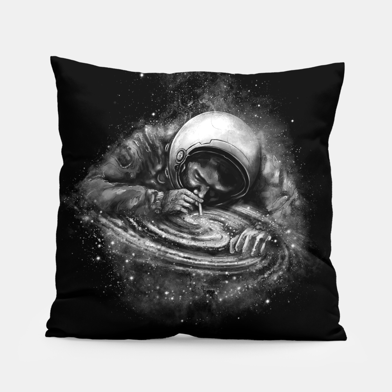 Image of Space Junkie Pillow - Live Heroes