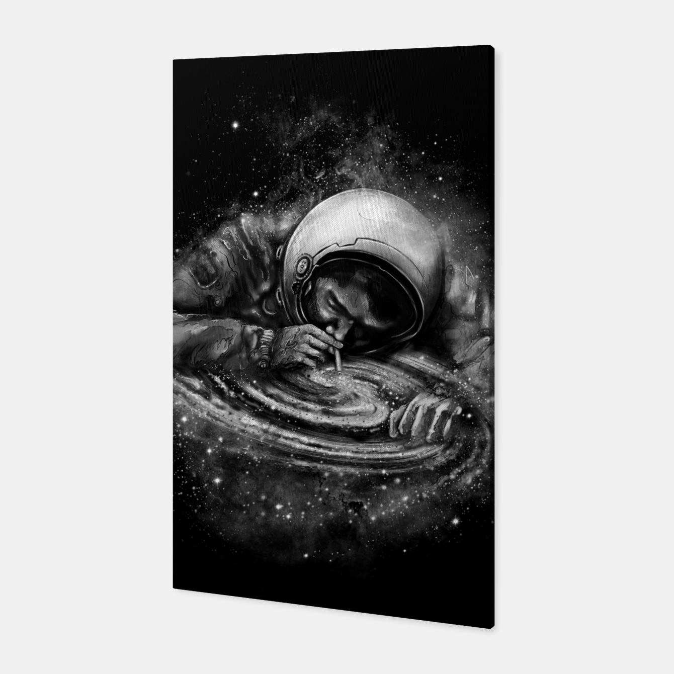 Foto Space Junkie Canvas - Live Heroes