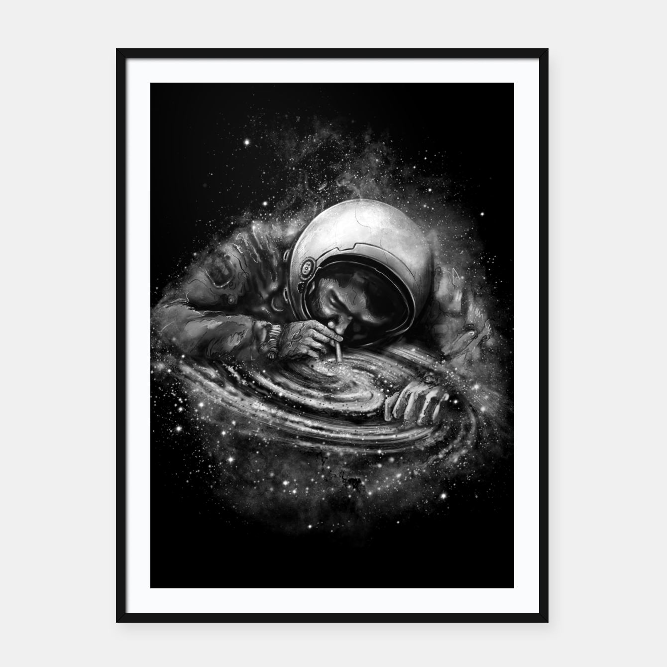 Image of Space Junkie Framed poster - Live Heroes