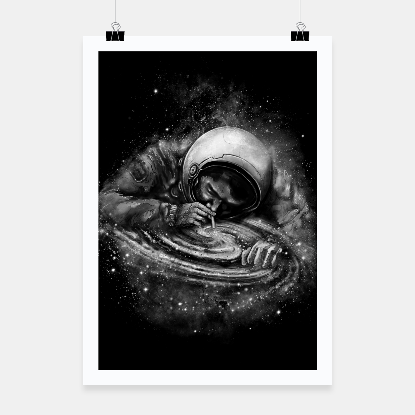 Image of Space Junkie Poster - Live Heroes