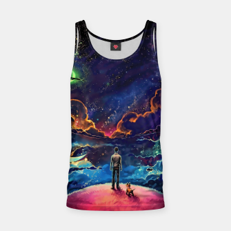 Man dog space Tank Top thumbnail image