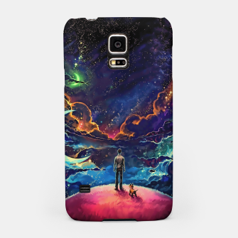 Thumbnail image of Man dog space Samsung Case, Live Heroes
