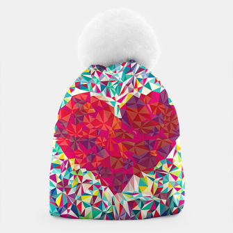 Thumbnail image of Abstract Heart Beanie, Live Heroes