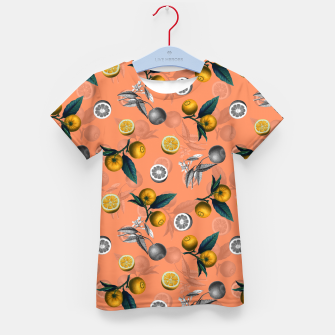 Miniature de image de Unfinished Lemons Kid's t-shirt, Live Heroes