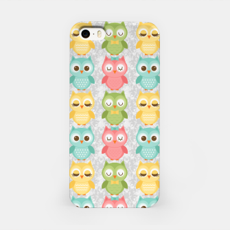 Owl Pattern iPhone Case miniature