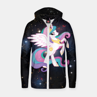 Pony Space Zip up hoodie miniature