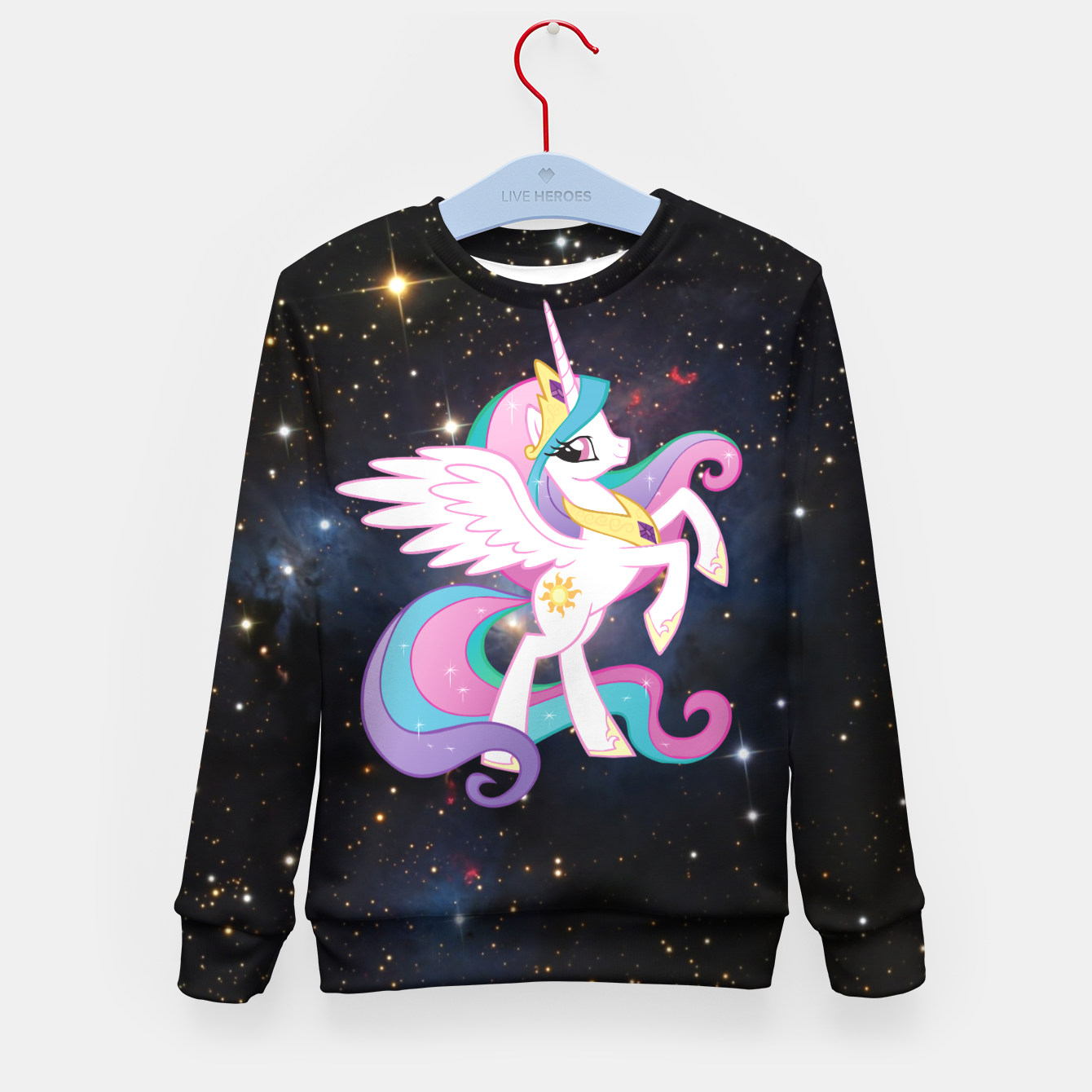 Image de Pony Space Kid's sweater - Live Heroes