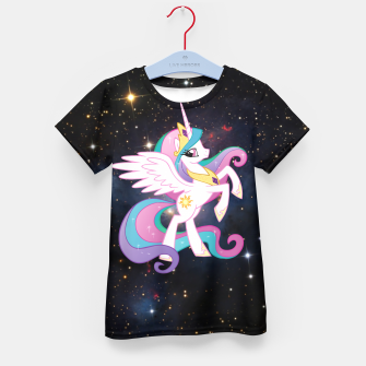 Pony Space Kid's t-shirt miniature