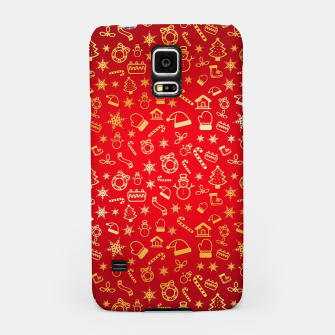 Thumbnail image of XmaS Pattern Samsung Case, Live Heroes