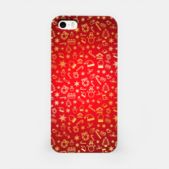 Thumbnail image of XmaS Pattern iPhone Case, Live Heroes