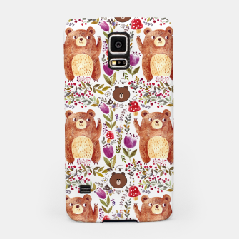 Thumbnail image of Bear Pattern Samsung Case, Live Heroes