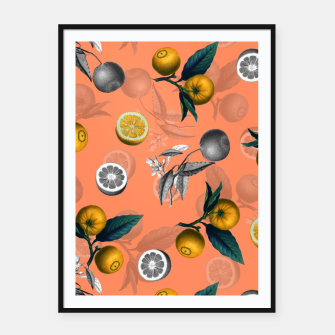 Miniature de image de Unfinished Lemons Framed poster, Live Heroes
