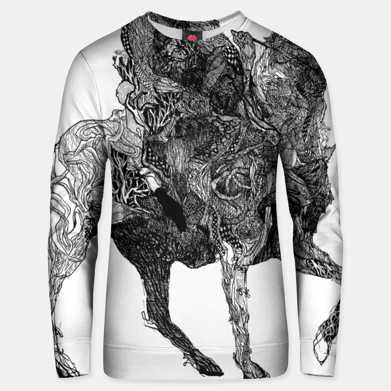 Image of Forest Knight Bluza unisex - Live Heroes