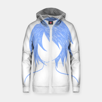 Thumbnail image of Kindly  Zip up hoodie, Live Heroes
