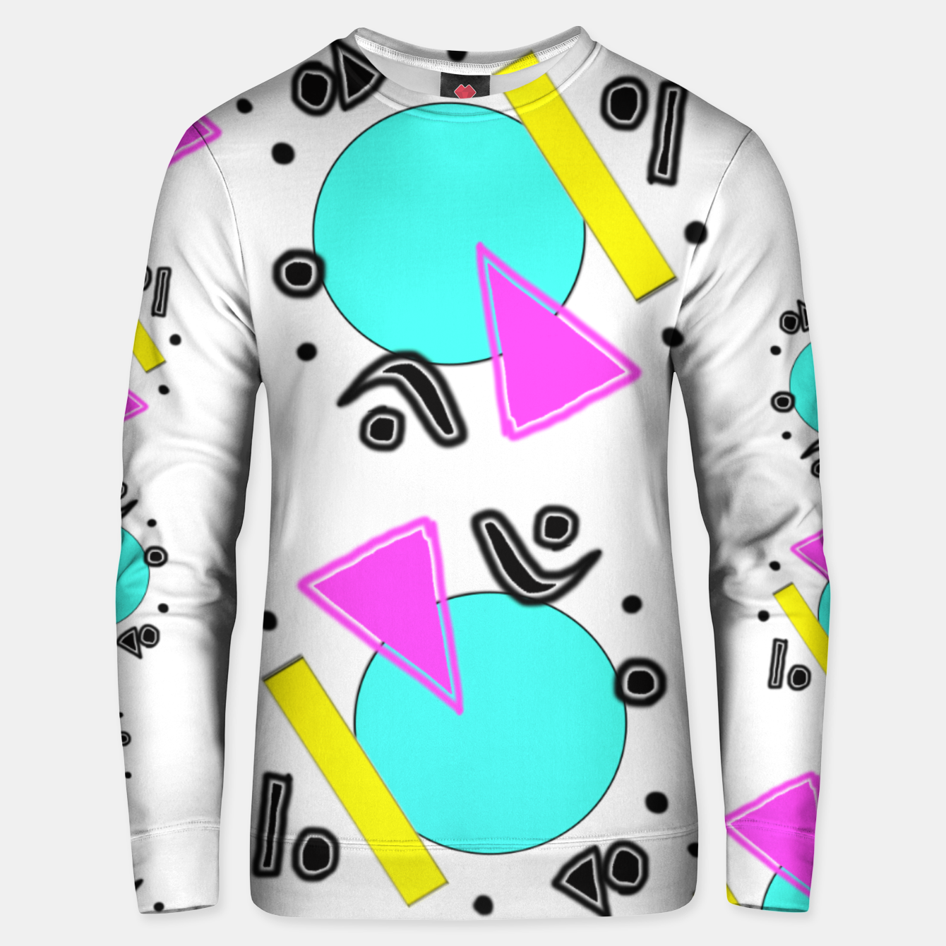 Image of 80's Overloaded! Unisex sweater - Live Heroes