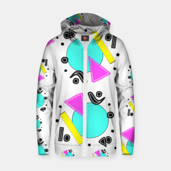 80's Overloaded! Zip up hoodie thumbnail image